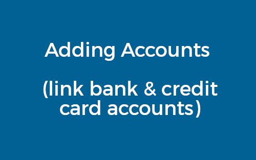 Banking Adding Accounts