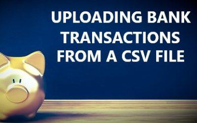 Uploading Bank Transactions